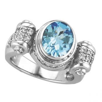 Blue Topaz Jewelry – the December Birthstone