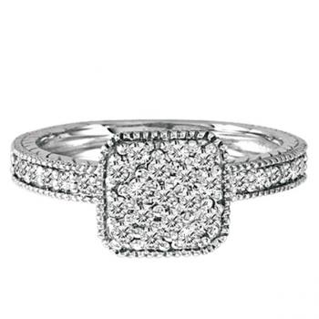Fingers That Sparkle with Diamond Rings
