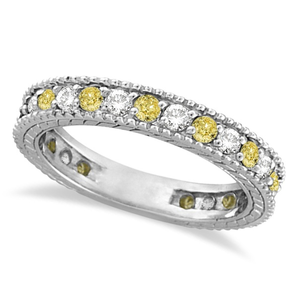Bold Yellow Diamond Rings