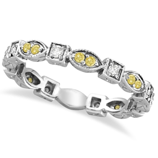 Sunshine on Your Fingers: Yellow Diamond Rings
