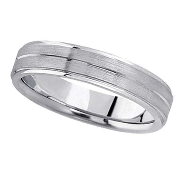 Palladium Wedding Bands Rule the Realm