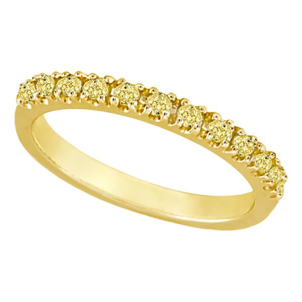 Luscious Yellow Diamond Rings