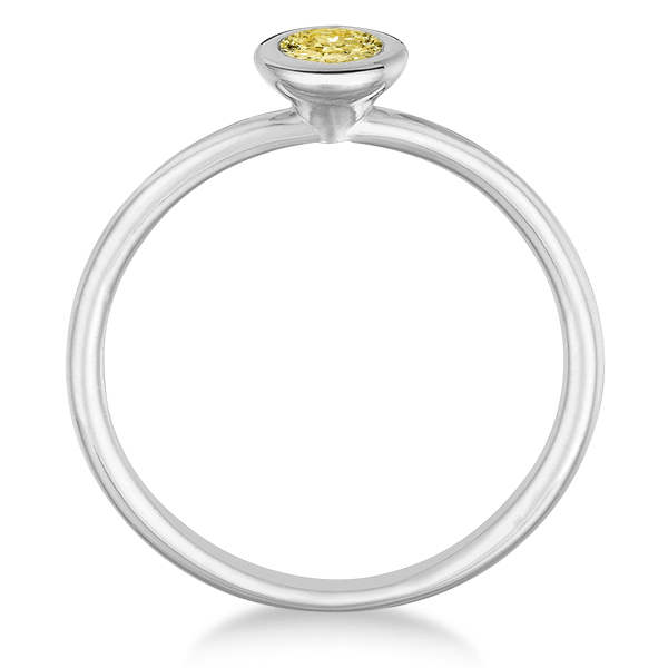 Bold Sunshine: Yellow Diamond Rings