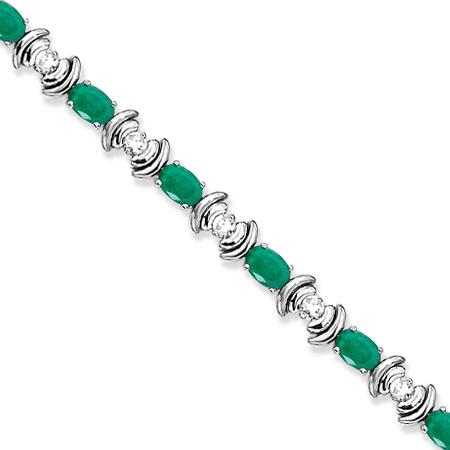 Elegant Emerald Jewelry