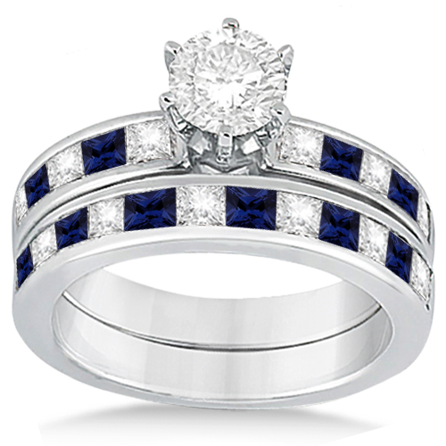 Boldly Blue Sapphire Engagement Rings