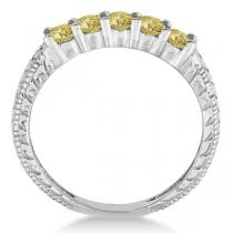 Yellow Diamond Rings Result in Extreme Class