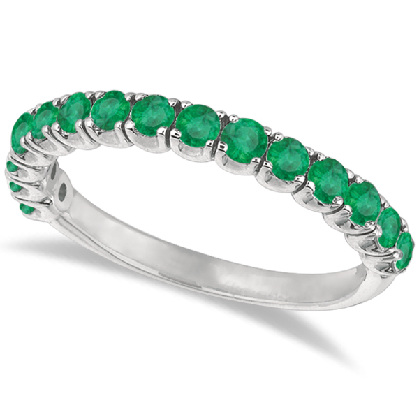 Wedding Bands with Emerald Gemstones for the Special Occasion