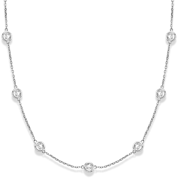 The Freshness Of Diamond Station Necklaces And Diamond By The Yard Necklaces