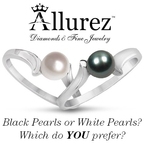 Why are Black Pearls Black and White Pearls White?