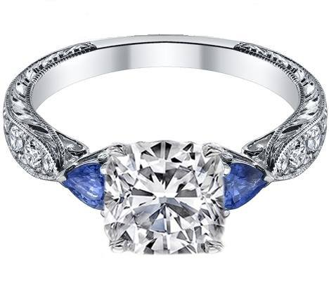 How to Find the Perfect Diamond & Sapphire Engagement Ring