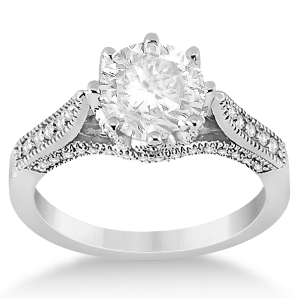Antique vs. Vintage Style Engagement Rings