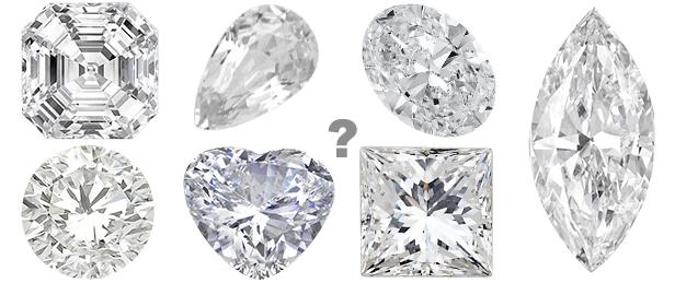 Diamond Cut Shapes from Allurez.com