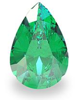 Pear-Cut Emerald