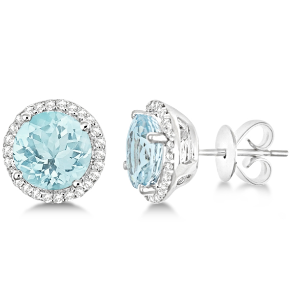 March Aquamarine Birthstone Jewelry