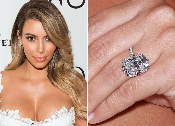 Kanye West Reportedly Purposed To The Reality Star With A 1 6 Million And Upward 15 Carat Cushion Cut Diamond Hopefully This Marriages Lasts Longer