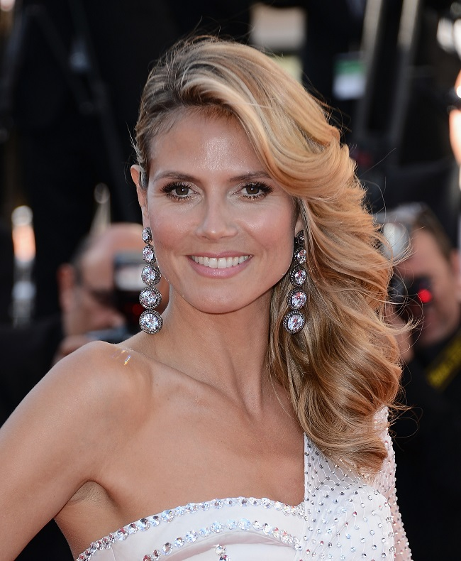"CANNES, FRANCE - MAY 23:  Heidi Klum attends ""Nebraska"" Premiere during the 66th Annual Cannes Film Festival at Grand Theatre Lumiere on May 23, 2013 in Cannes, France.  (Photo by Ian Gavan/WireImage for Electrolux) *** Local Caption *** Heidi Klum"