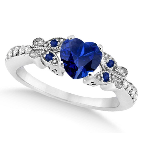 Disney Sapphire And Diamond Ring