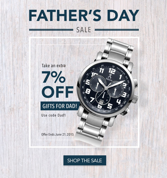 Father's Day 2015 Sale!