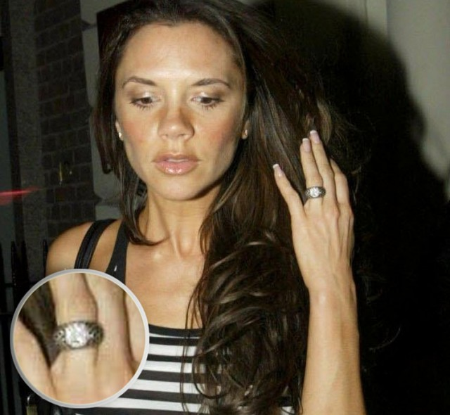 2Victoria Beckham engagement rings, engagement rings, diamond engagement rings, diamond rings, celebrity engagement rings, extravagant engagement rings