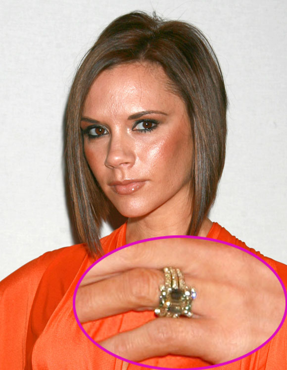 Victoria Beckhams 13 Engagement Rings