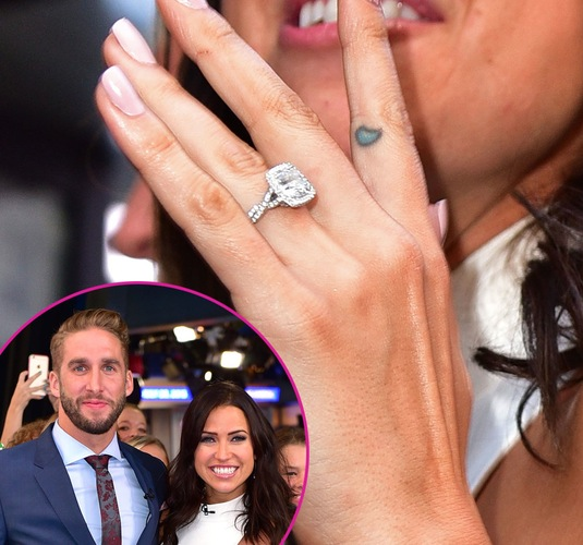 The Bachelorette Stars Dazzling Diamond Engagement Ring