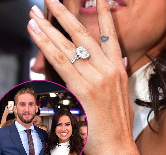 The Bachelorette Stars Dazzling Diamond Engagement Ring