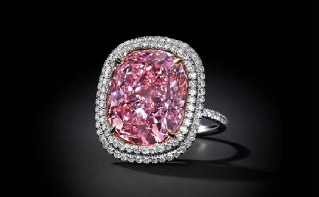 Pretty in the Pink: Choose our Pink Diamond Ring or Theirs