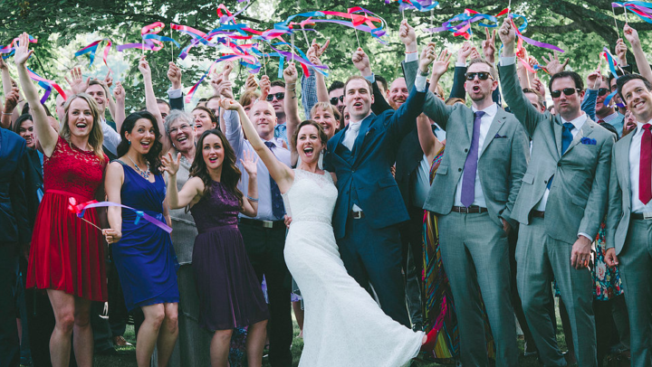 A Wedding Worth A Standing Ovation!