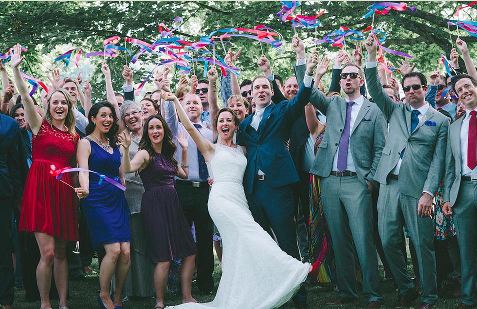 A Wedding Worth A Standing Ovation!