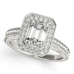 2d19bd5858c550 How to Pick the Best Emerald Cut Engagement Ring For You | Allurez ...
