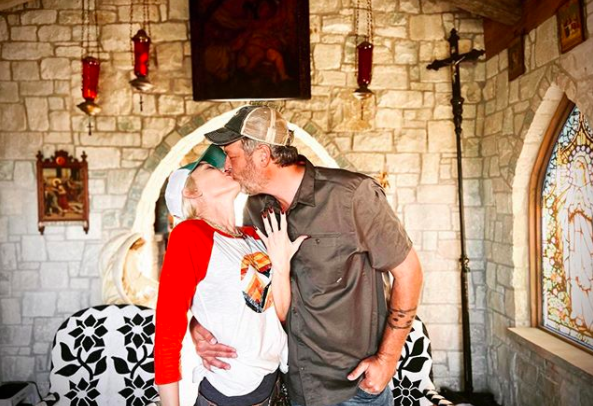 Gwen Stefani and Blake Shelton. Photo: Instagram/Gwen Stefani.