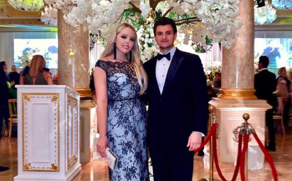 Tiffany Trump and fiancé Michael Boulos. Photo: Instagram.