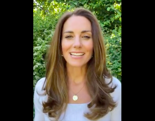 Kate Middleton. Photo: Screenshot.