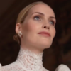 Kitty Spencer in one of her wedding gowns. Photo: Screenshot.