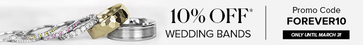 10% Off Wedding Bands