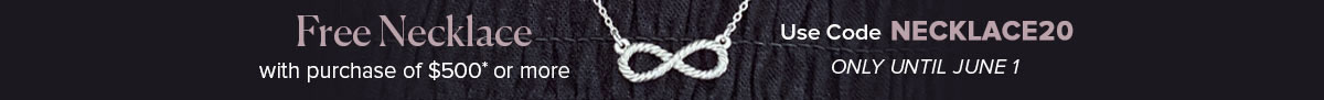Free Infinity Necklace