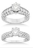Antique/Vintage Style Engagement Rings