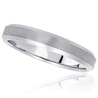 Womens Carved Wedding Bands