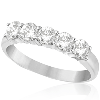 Womens Diamond Wedding Bands