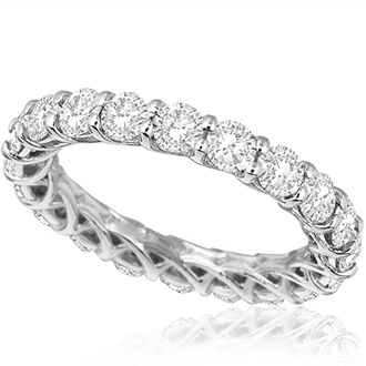 Womens Eternity Wedding Bands