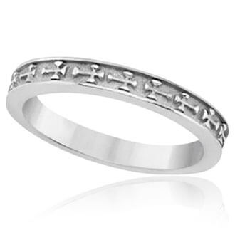 Womens Religious Wedding Bands