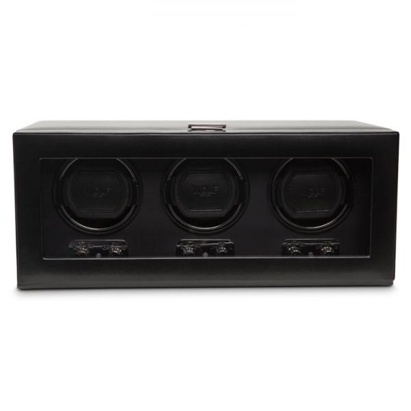 Allurez Men's Triple Automatic Watch Winder Glass Cover Preset Winding Programs at Sears.com