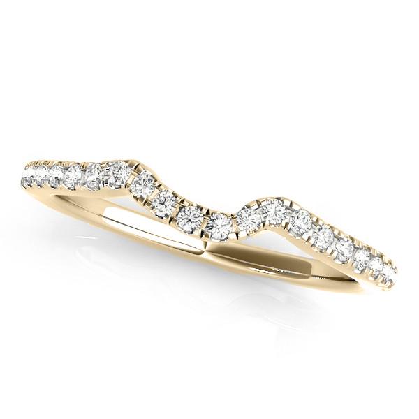 Round Diamond Engagement Ring & Band Bridal Set 14k Yellow Gold 1.32ct