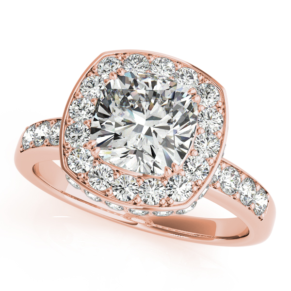 shaped cz rings hand on engagement lake side cushion halo cut ring mm corrals diamond