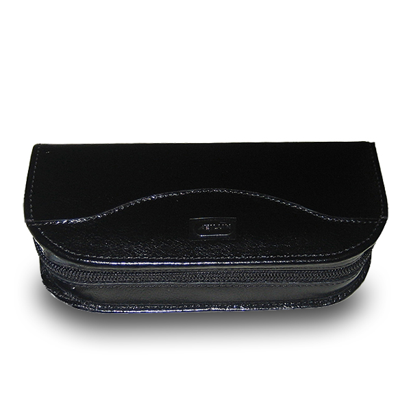Men's Leather Travel Watch Case Holds 2 Watches & Jewelry Accessories