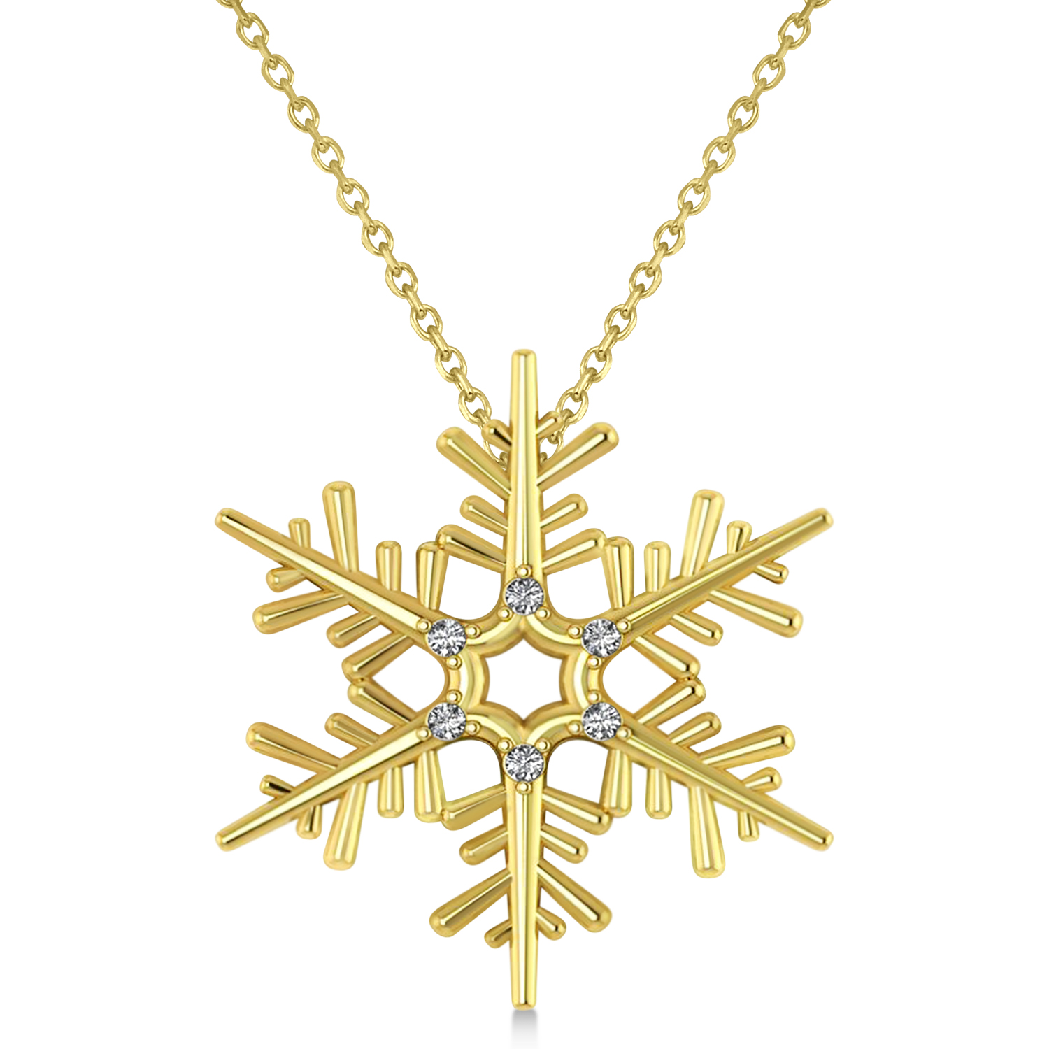 vice necklace sugar products snowflake
