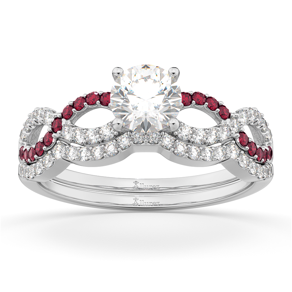 and a cluster accent diamond engagement of accents lovetoknow flower wiki rings in photos ruby with