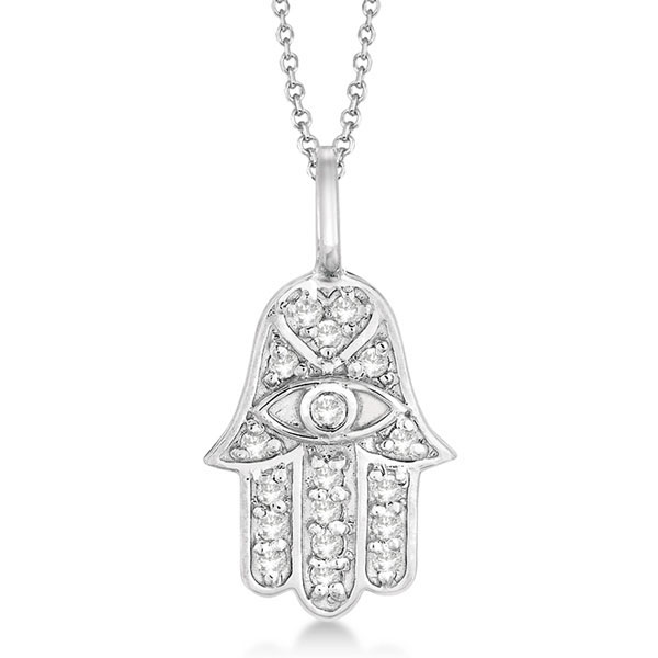 silver evil eye pendant product sterling lucky hamsa necklace