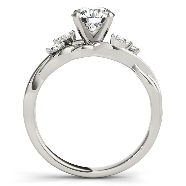 Diamond Marquise Vine Leaf Bridal Set Setting Platinum (0.43ct)