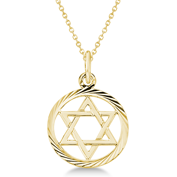 Star of david pendant gold choice image home and for Star of david necklace mens jewelry